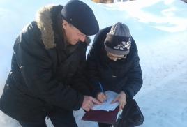 Выезд мобильной бригады в п. Базанча и п. Калары